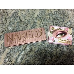 UD Naked 3/Too Faced Romantic Eyes Bundle